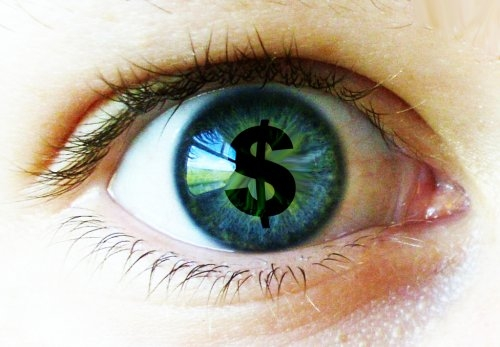 Money In The Eye