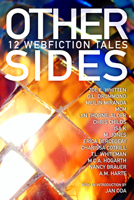 Other Sides cover, showing shiny pathwork design as background to text.